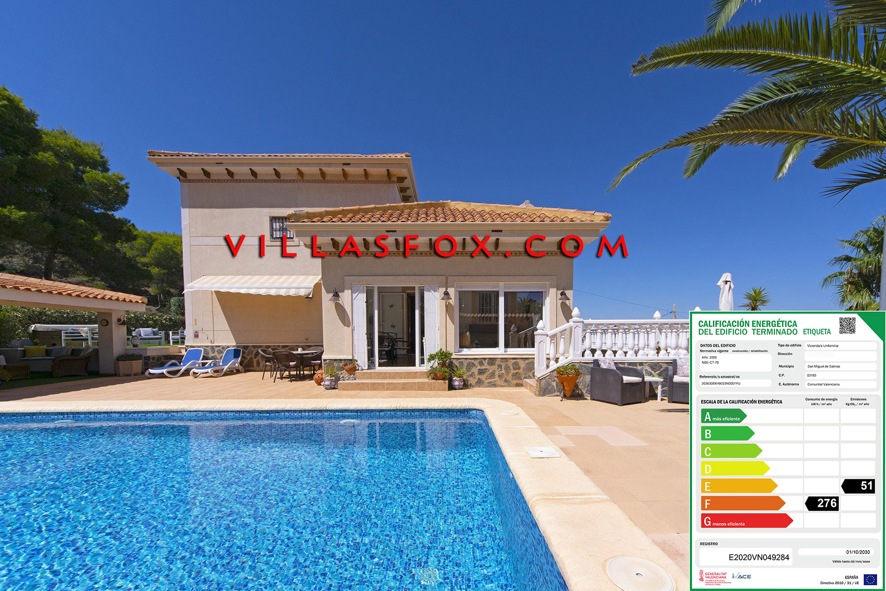 Villasmaría luxury villa with pool, conservatory, garage, great views!
