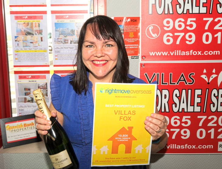 Villas Fox win Rightmove award