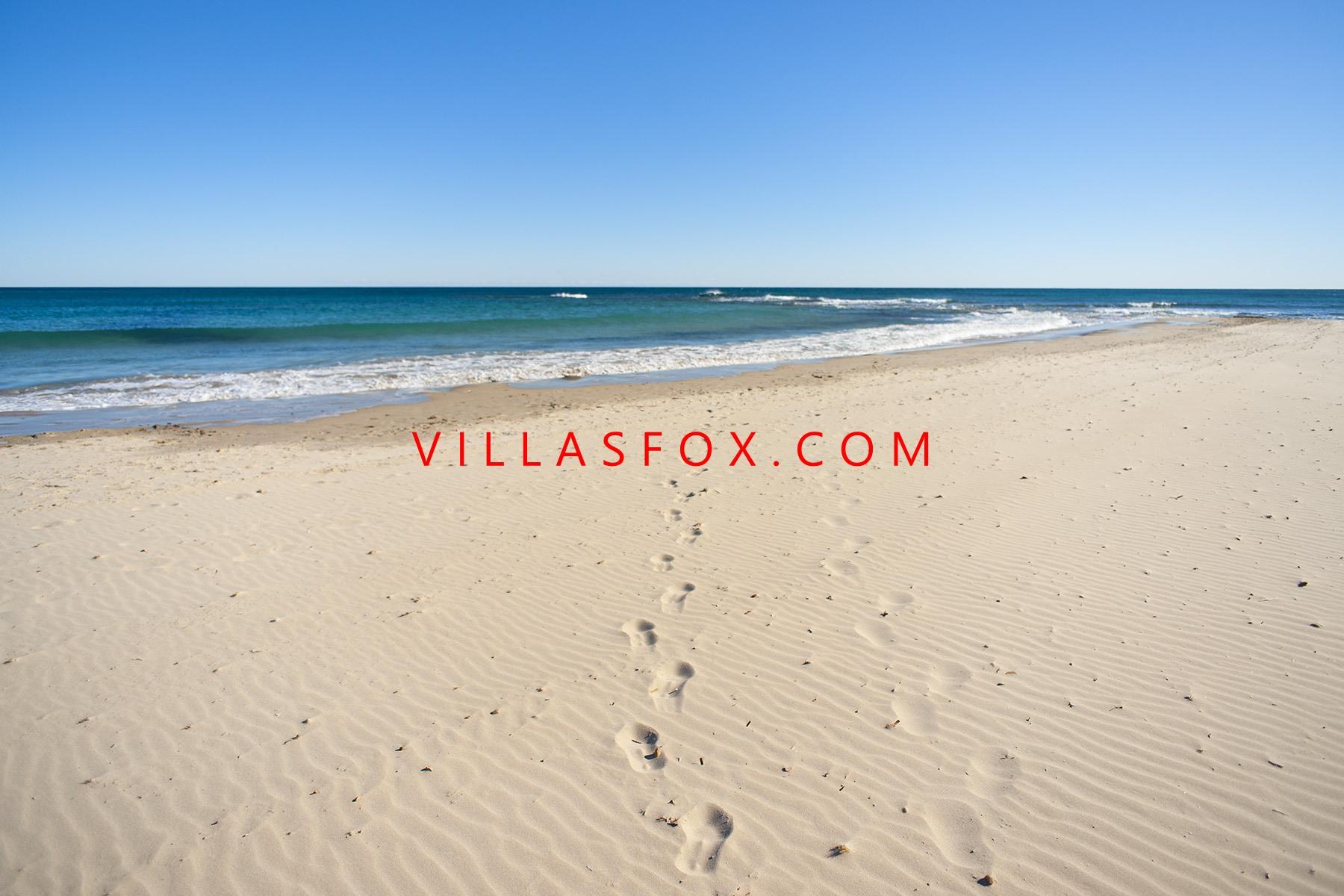 plage torre de la horadada par Villas Fox Real Estate