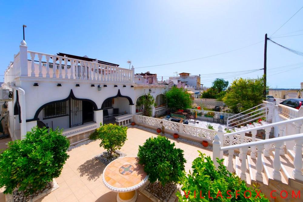 2-værelses hjørnehus med have, Balcón de la Costa Blanca, San Miguel de Salinas
