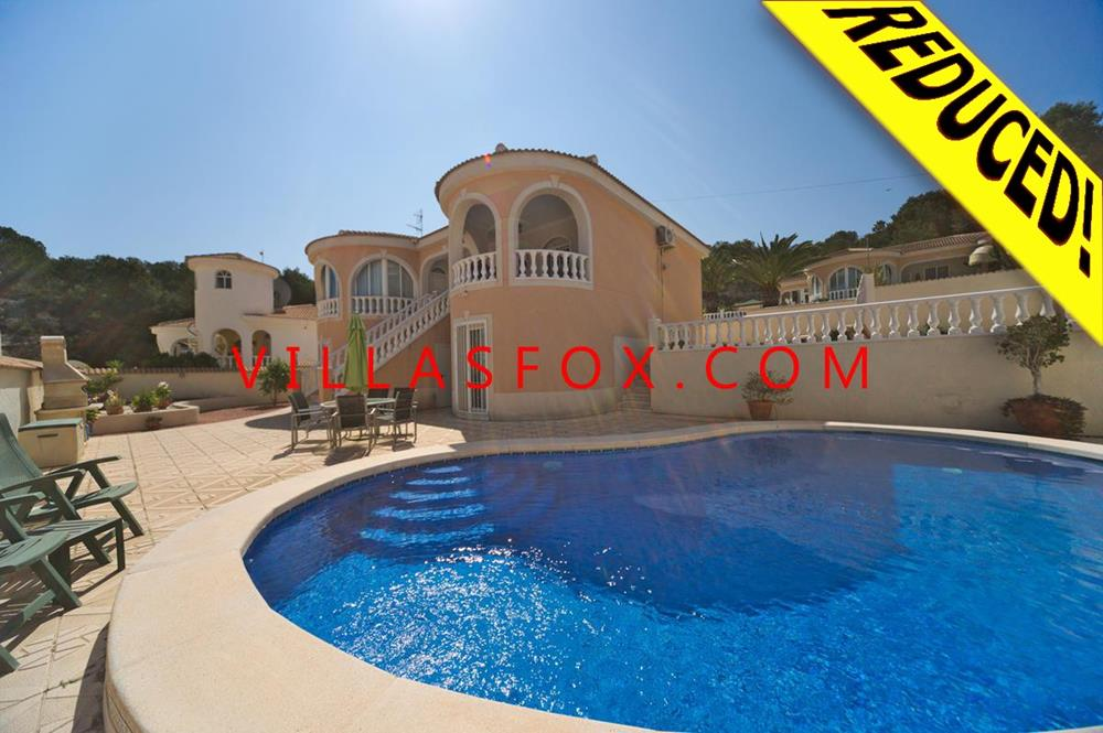 Elegant and modern 4-bedroom, 3-bathroom villa on 2 floors, private pool, Villasmaría, San Miguel