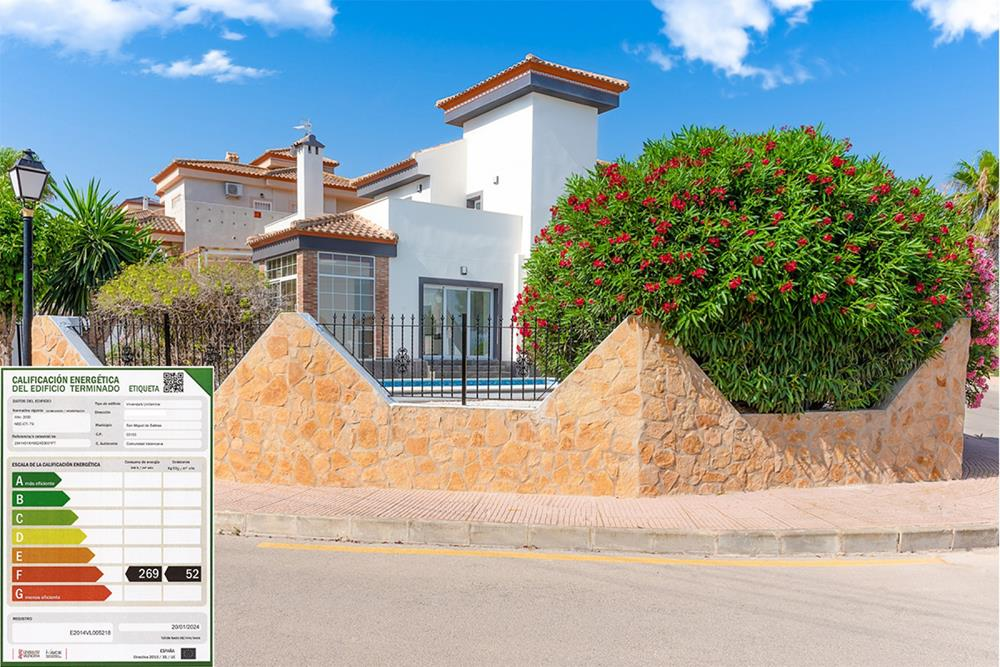 Vila separată cu 3 dormitoare, Villas Comunicaciones, San Miguel de Salinas