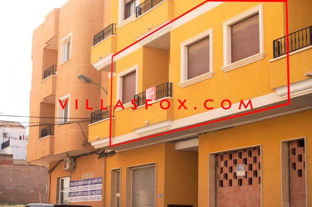 Appartement spacieux de 2 chambres au 1er étage, San Miguel de Salinas avec garage en option