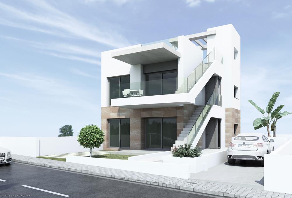 Nybyggede 3-roms bungalowvillaer med fantastisk utsikt!