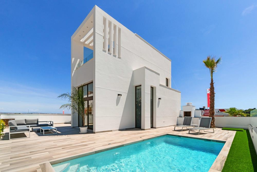 Luxury sea-view detached villa, 3 bed, 3 bath