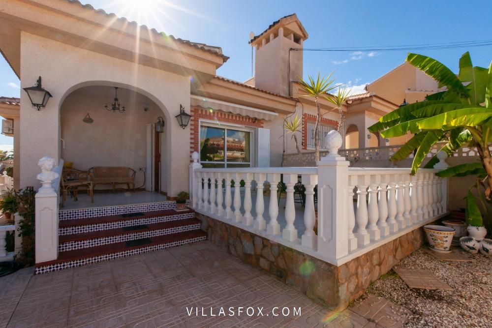 Parhusvilla med solarium, El Galan, San Miguel de Salinas