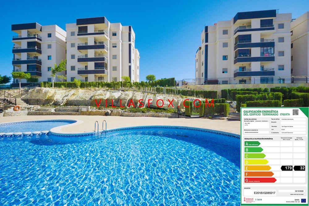 San Miguel de Salinas, 2-bedroom apartment (3rd floor), Residencial Angelina