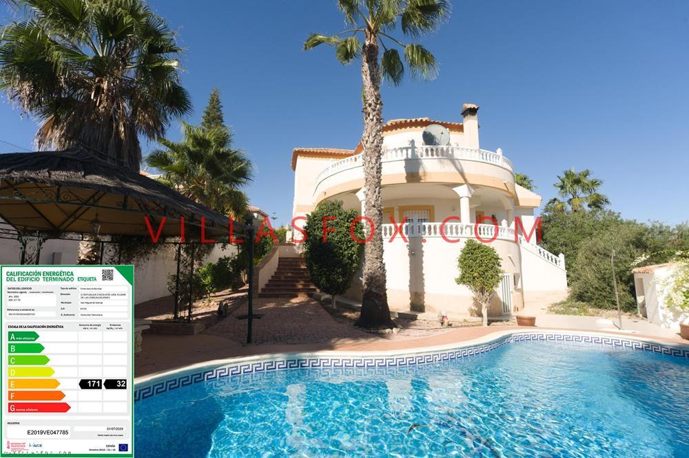 Luksuriøs enebolig på stor tomt med fantastisk utsikt, Torrestrella, San Miguel de Sa