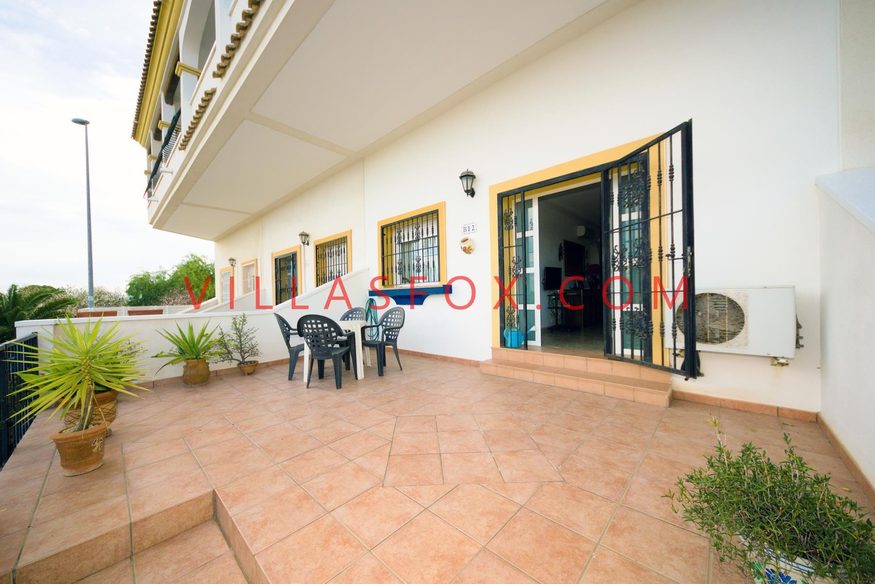 2-bedroom large ground-floor apartment with garden, Costa Paraíso II, San Miguel de Salinas