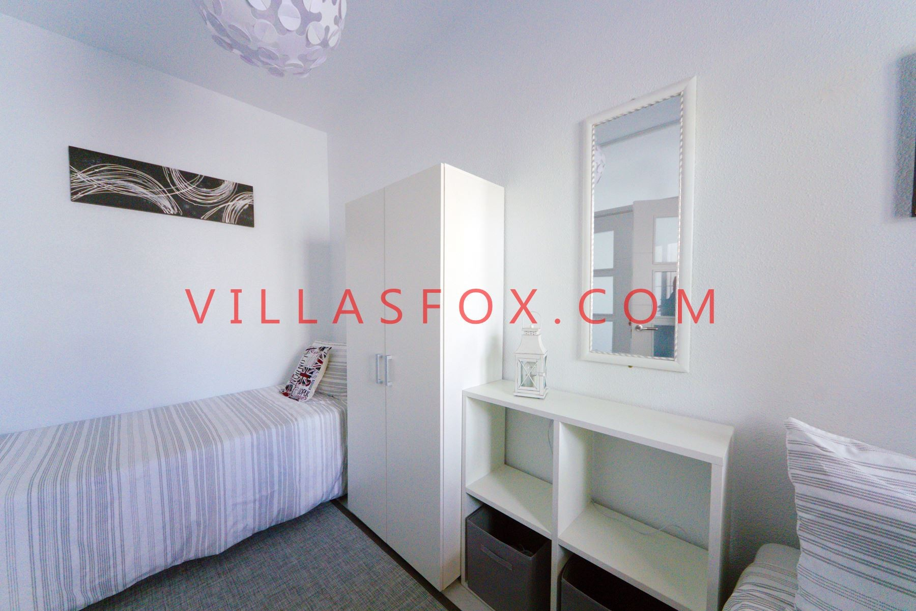 2-bedroom, 2-bathroom house on 2 levels, solarium, gardens, Blue Lagoon, San Miguel de Salinas