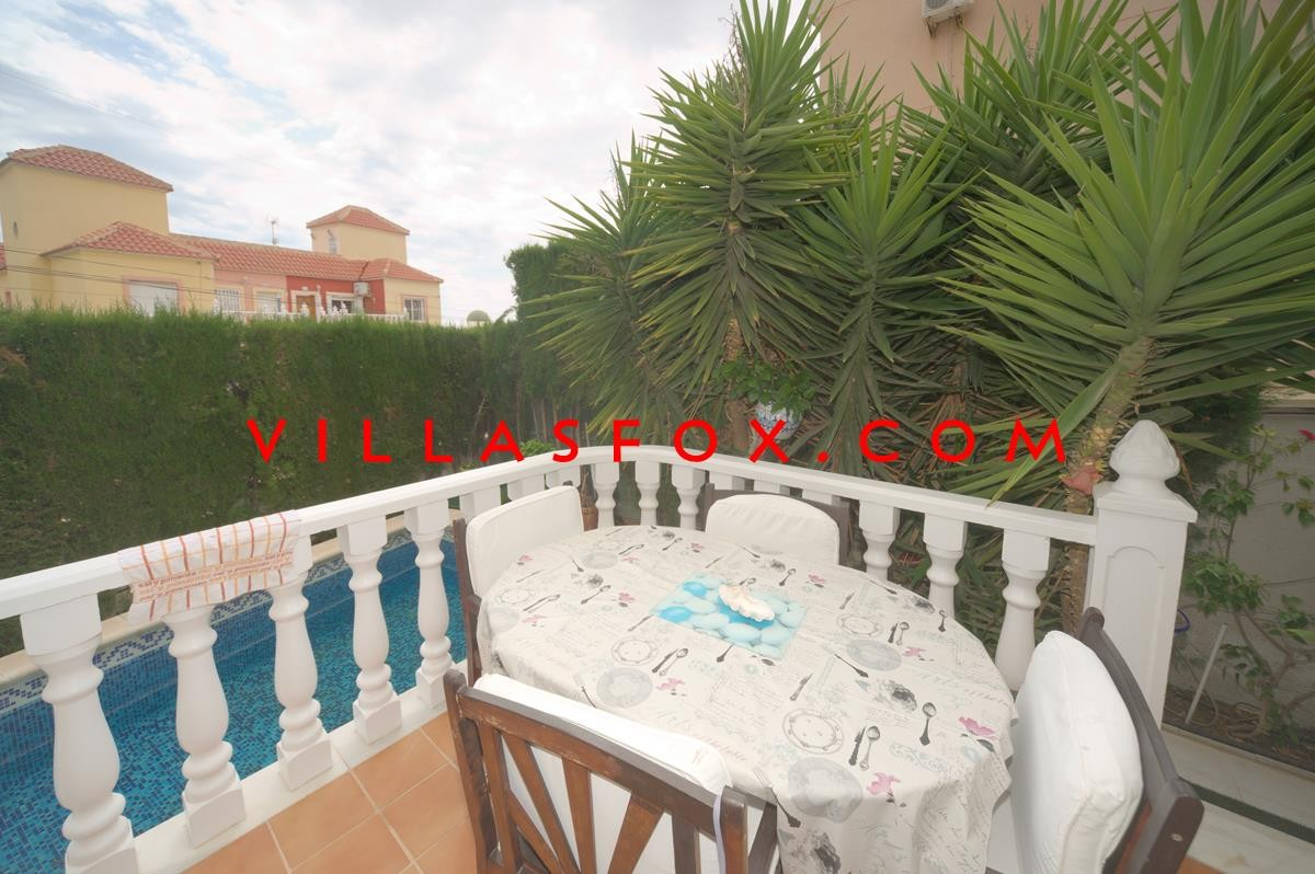3-bedroom semi-detached villa with private pool, El Galan