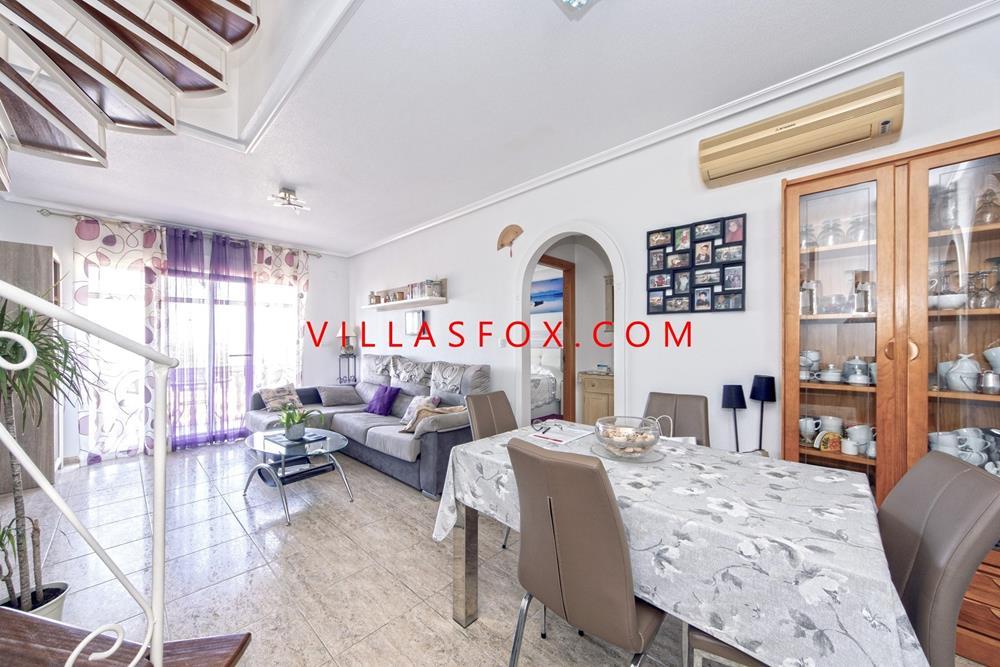 סן מיגל דה סלינס דירה עם חדר שינה אחד, בקומה העליונה עם סולריום פרטי