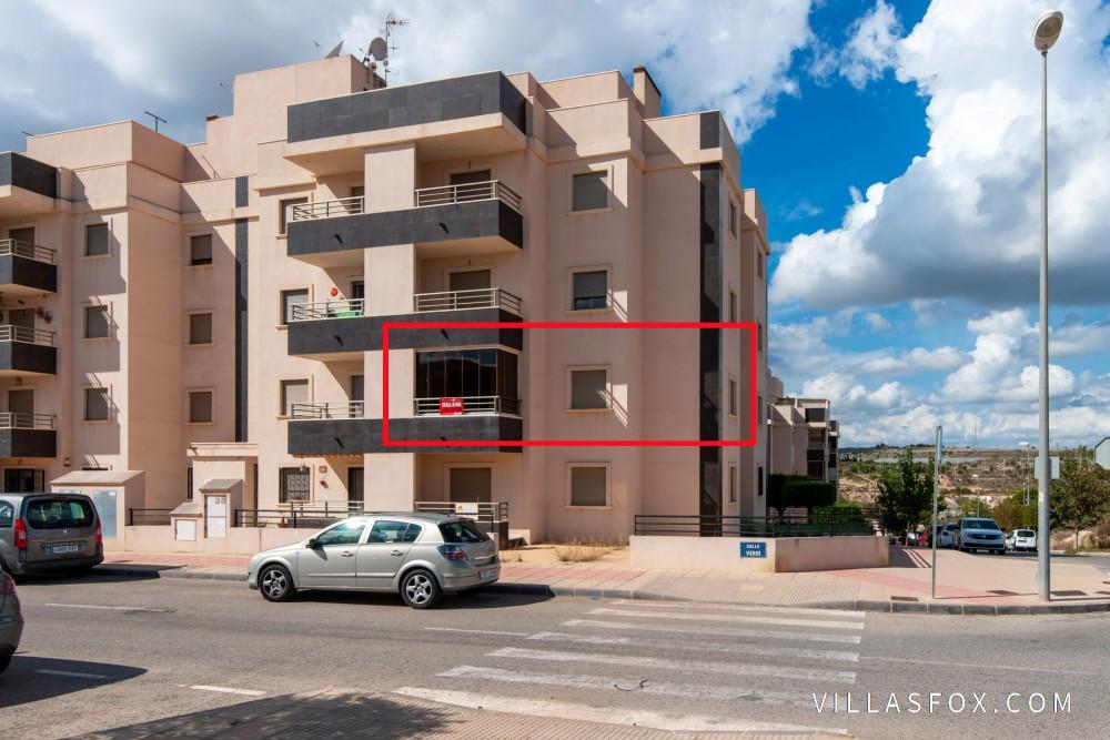 San Miguel de Salinas 2-roms leilighet i 1. etasje, Residencial Angelina