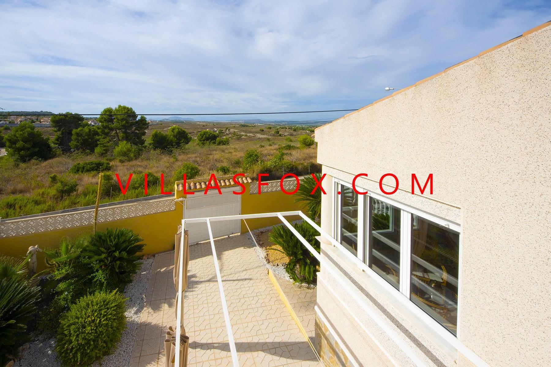 Las Comunicaciones 2-roms villa på ett plan med flott utsikt