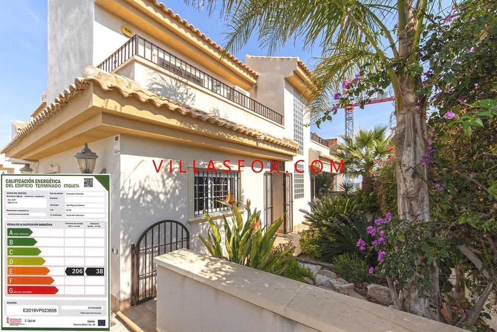 Villa pareada de 3 dormitorios, Los Flamencos, La Cañada