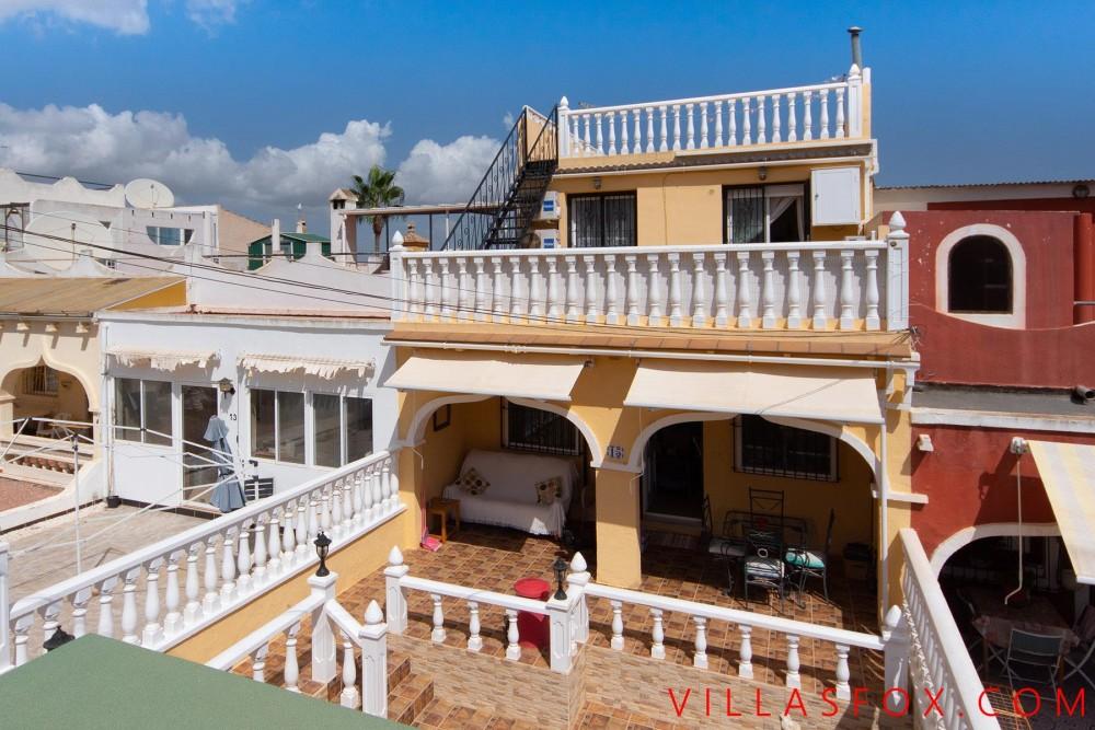 Balcón de la Costa Blanca hus med 4 soverom til salgs
