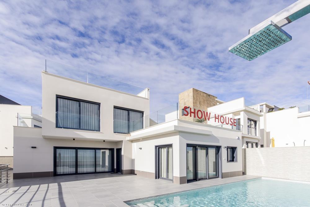 Villas neuves de modèle Penelope de 3 chambres, Bellavista