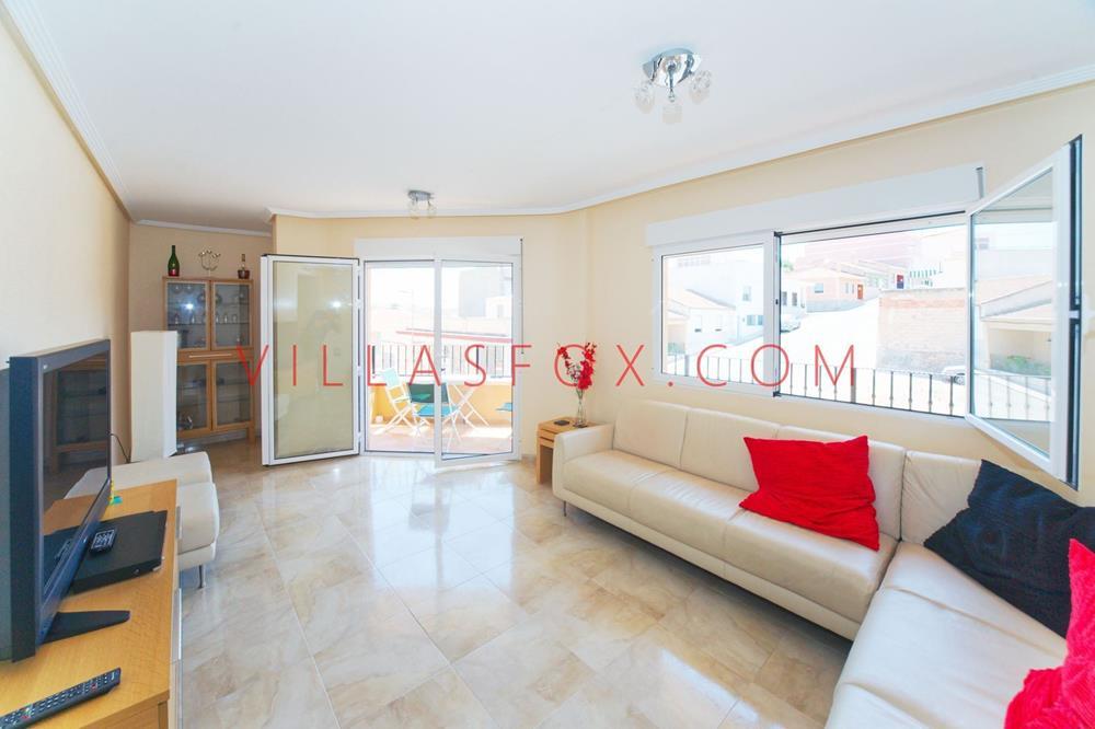 Appartement de luxe de 4 chambres et 2 salles de bains, centre-ville de San Miguel de Salinas
