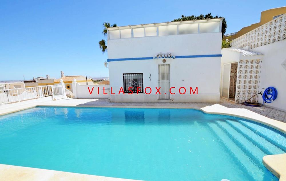 Villa with pool on Balcón de la Costa Blanca, San Miguel de Salinas