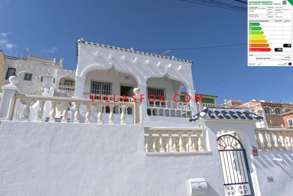 Balcón de la Costa Blanca modernisert frittliggende villa til salgs