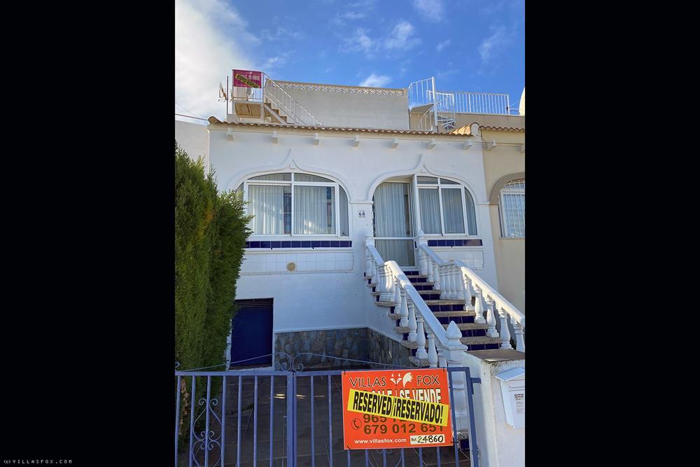 Balcón de la Costa Blanca - 3 soverom, 2 bad tomannsbolig villa med stor hage