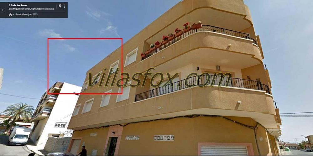 2 bedroom, 2 bathroom apartment in San Miguel de Salinas only 95,000 euros