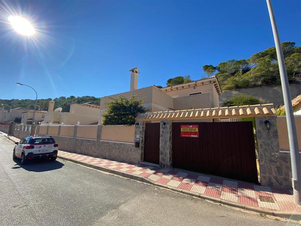 San Miguel de Salinas freistehende Villa, Villasmaría, Las Comunicaciones (4 Schlafzimmer, großer Pool, toll