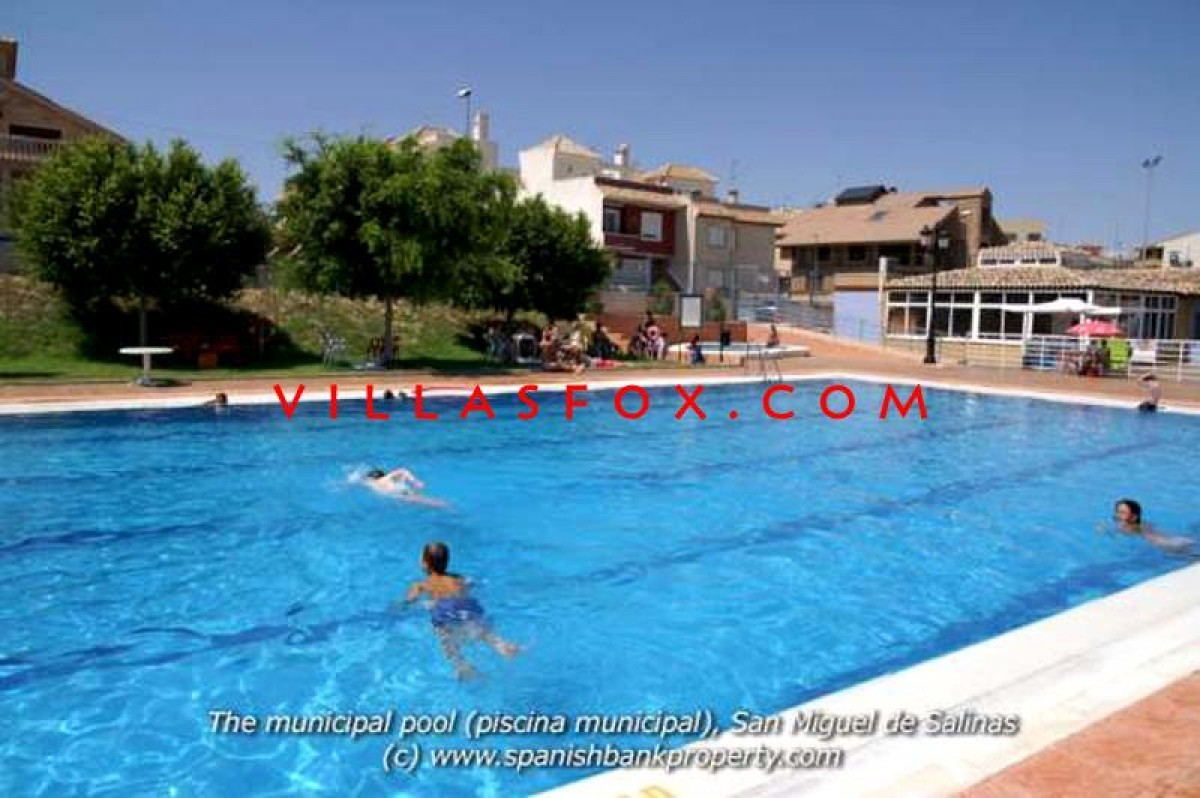 Townhouse with private pool, solarium, parking, Balcón de la Costa, San Miguel de Salinas
