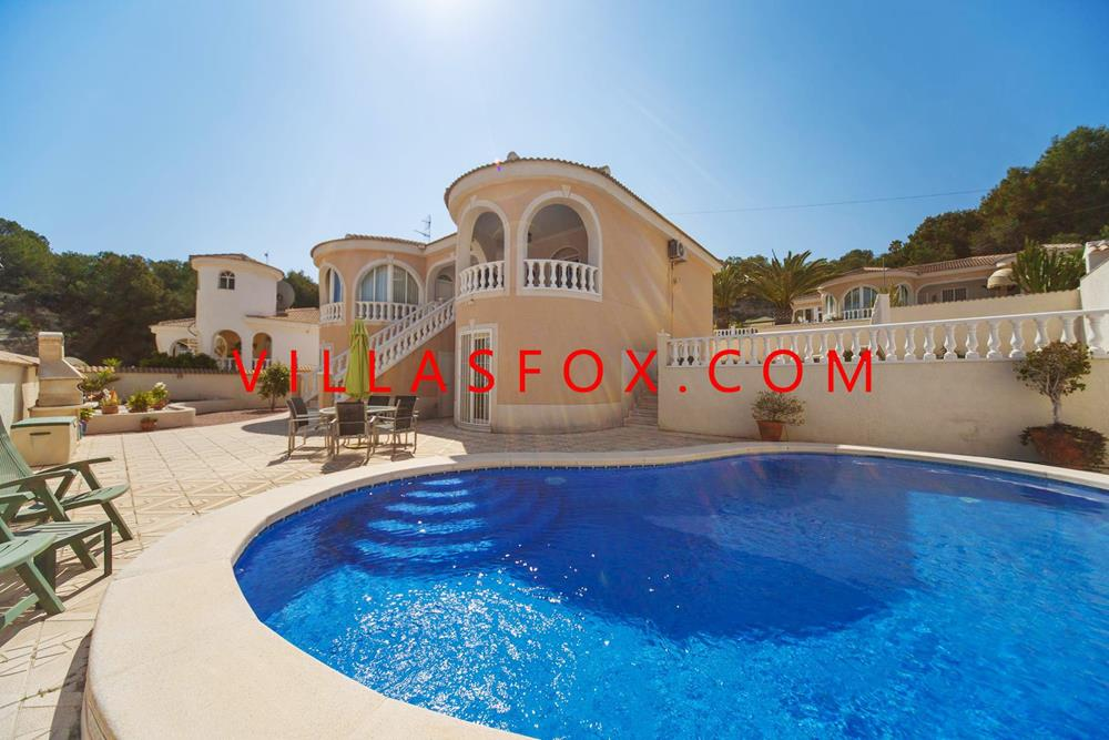 Villasmaría (Las Comunicaciones) - luxury villa on 2 levels, pool and integral garage